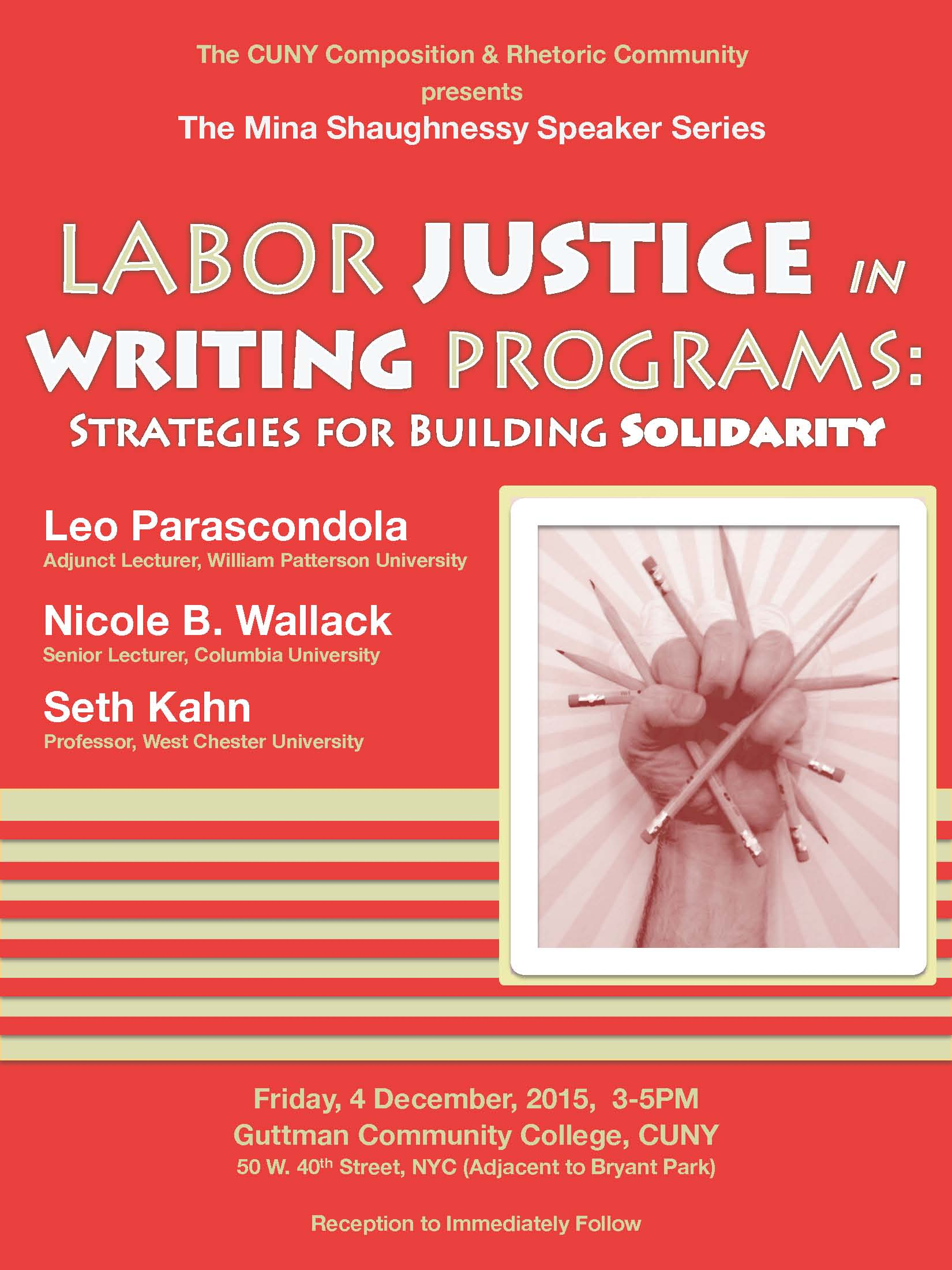 Labor Justice in Writing Programs: Strategies for Building Solidarity